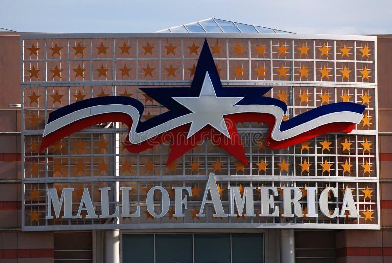Mall von Amerika lizenzfreie stockbilder