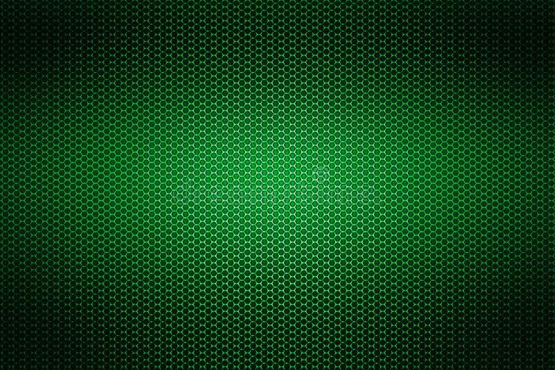Malla metálica del cromo verde fondo y textura del metal libre illustration