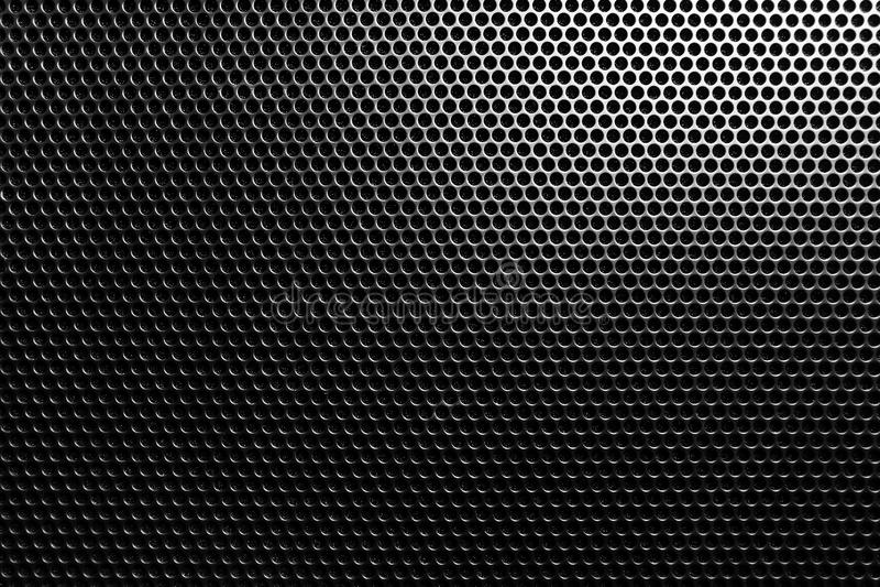 Malla metálica oscura stock de ilustración