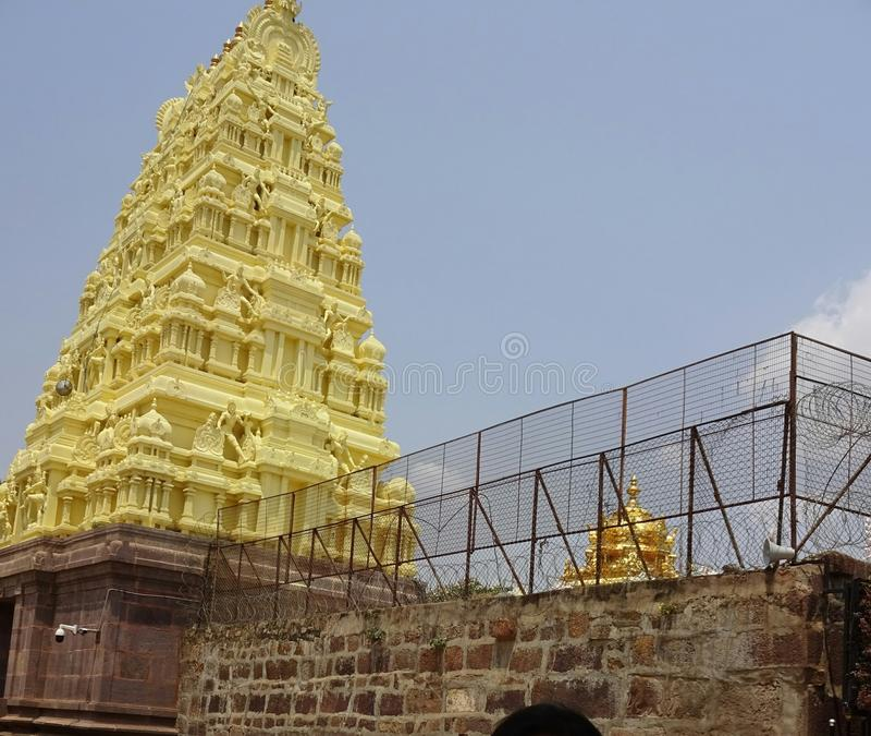 Mallikarjuna-Tempel lizenzfreies stockfoto