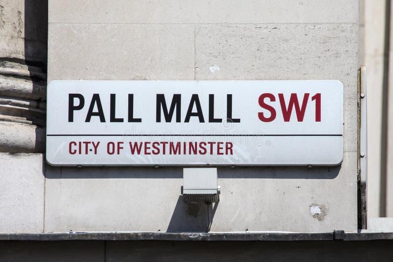 Mallo en Londres foto de archivo libre de regalías