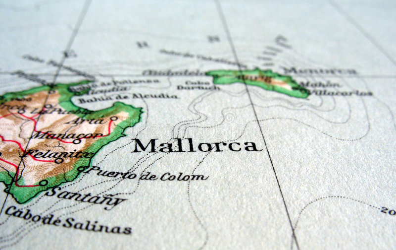 mallorca 免版税库存照片