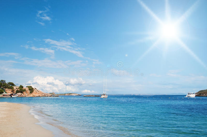 Mallorca beach royalty free stock images