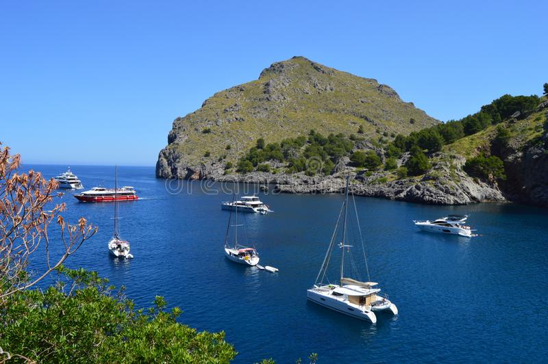 Mallorca bonito imagem de stock