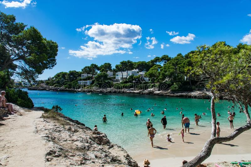 Mallorca Cala d& x27; Lub zdjęcie royalty free