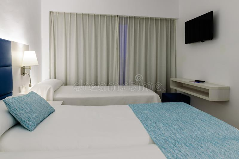 Modern interior of a classic room in the hotel royalty free stock images