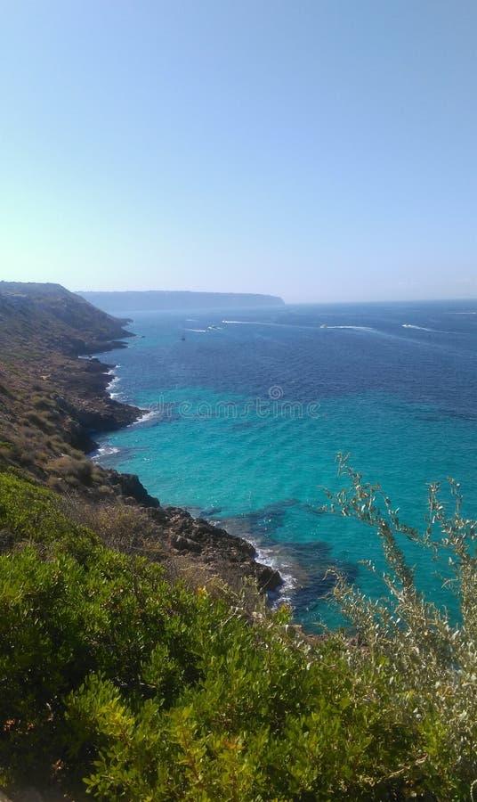 Mallorca-Küste stockfotos