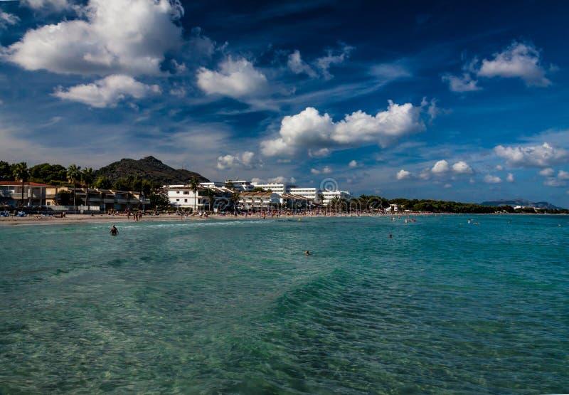 Mallorca landscape in summer royalty free stock photo