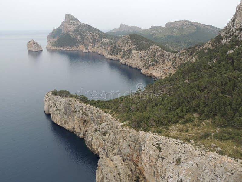 Mallorca landskap royaltyfria foton