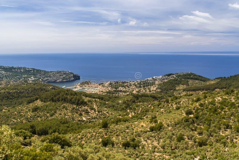 Mallorca, Port DE Soller stock foto