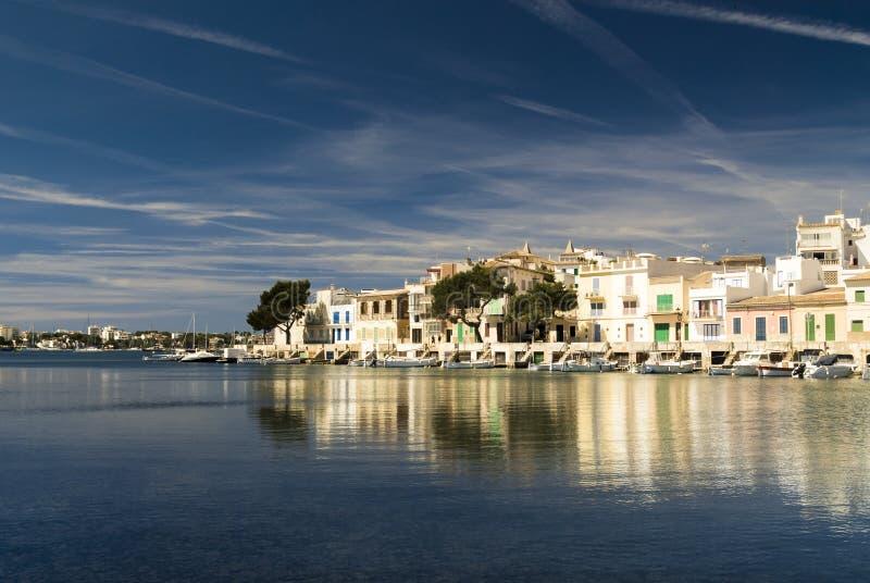 Mallorca, Porto Colom stock afbeelding