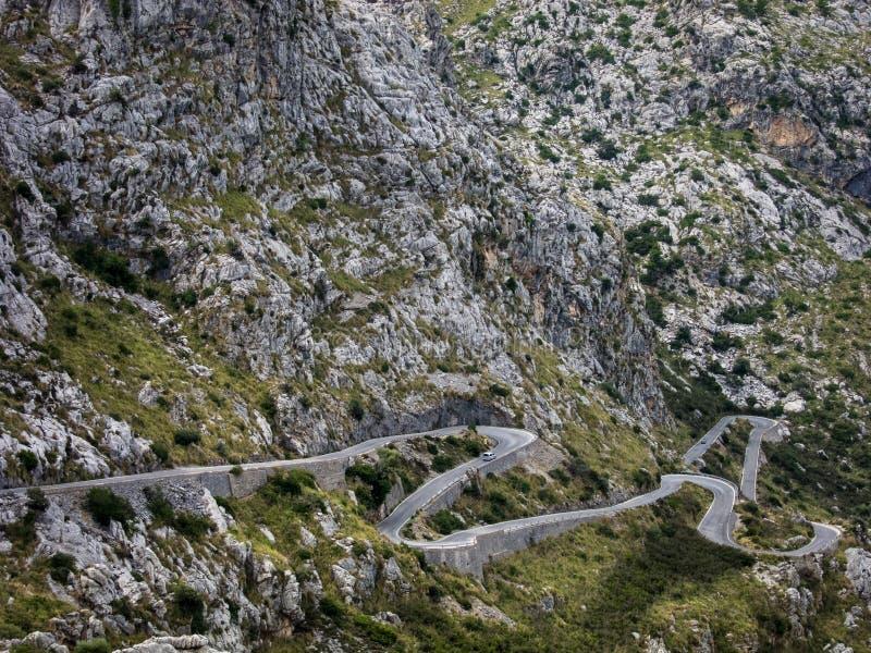 Mallorca Sa Calobra obrazy royalty free