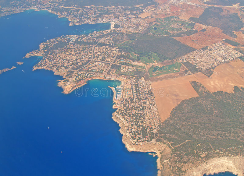 Mallorca from the sky