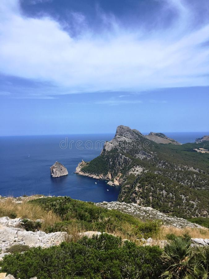 Mallorca Spanien arkivbilder