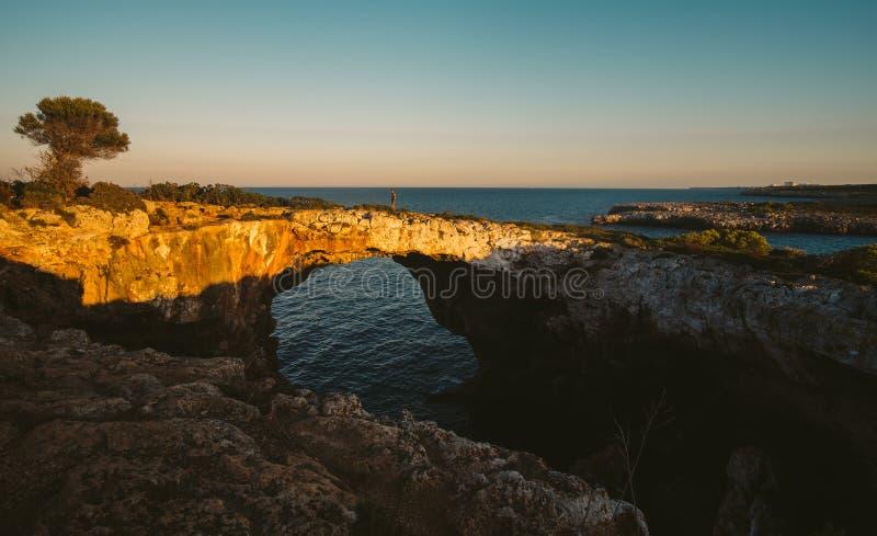 Mallorca wyspa jest wielkie Balearic wyspy obraz stock