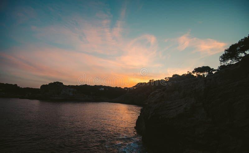 Mallorca wyspa jest wielkie Balearic wyspy obrazy stock