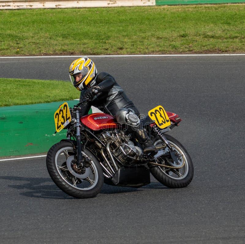 Mallory Park Motorcycle Racing royaltyfri fotografi