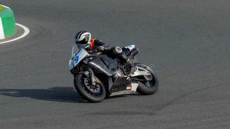 Mallory Park Motorcycle Racing arkivbilder