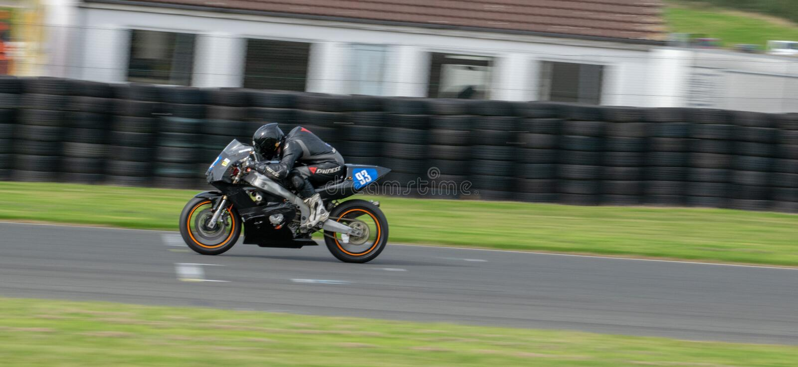 Mallory Park Motorcycle Racing stock fotografie