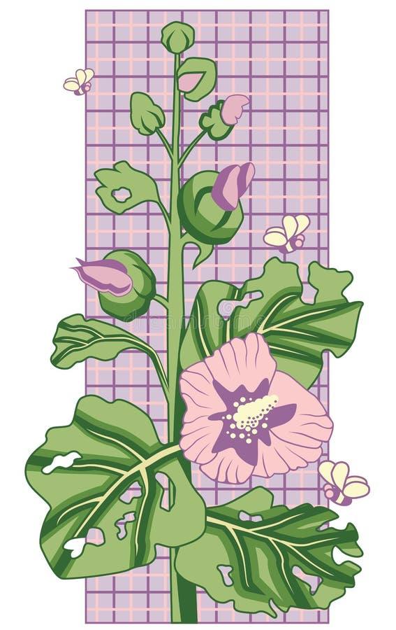 mallow λουλουδιών στοκ φωτογραφίες με δικαίωμα ελεύθερης χρήσης