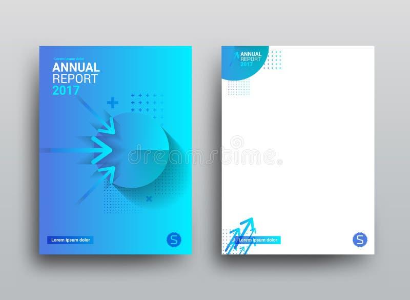 Mallräkning och sidadesign Illustration med pilar och cir vektor illustrationer