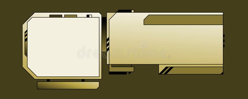 mallrengöringsduk för 03 design stock illustrationer