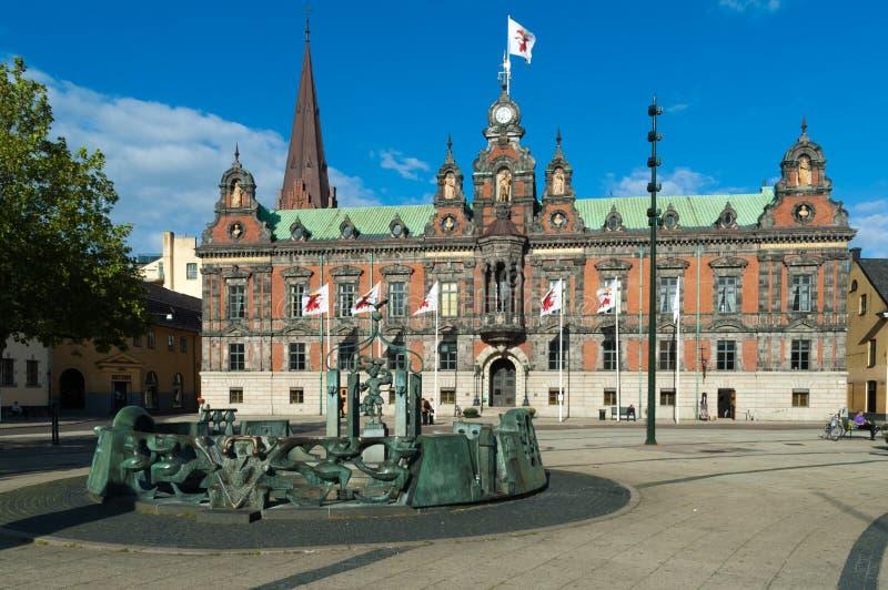 MalmöRathaus stockbild