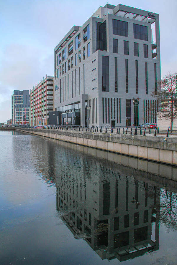 Malmaison旅馆在利物浦 免版税库存照片