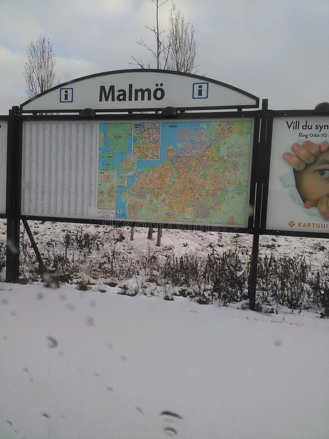Malmo stock foto