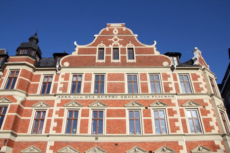 Download Malmo school building stock photo. Image of vintage, landmark - 26464448