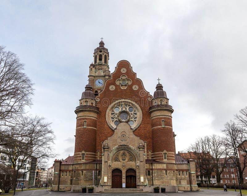 Malmo St Johannes Church arkivfoto
