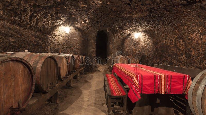 Malnik Wine Cellar stock photos