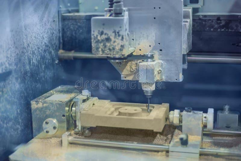 Malningmaskin under arbete fotografering för bildbyråer