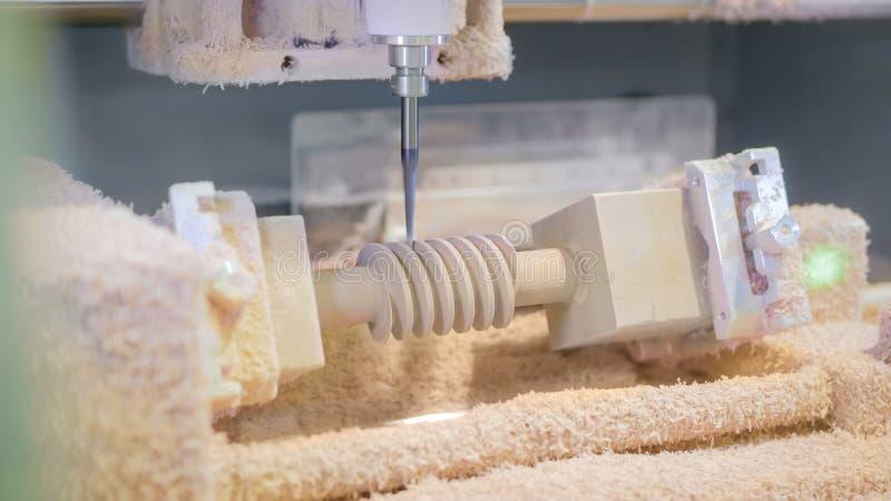 Malningmaskin under arbete royaltyfri fotografi