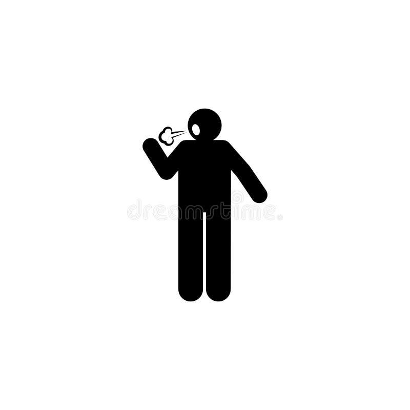 Malo, asqueroso, boca, icono hediondo Elemento del icono del c?ncer Icono superior del dise?o gr?fico de la calidad Muestras e ic ilustración del vector