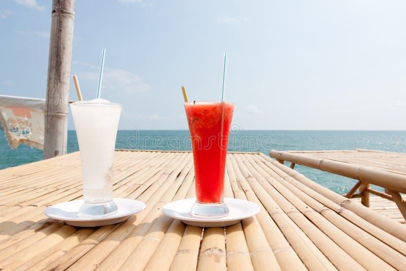 Malon da limonada e da água. fotos de stock royalty free