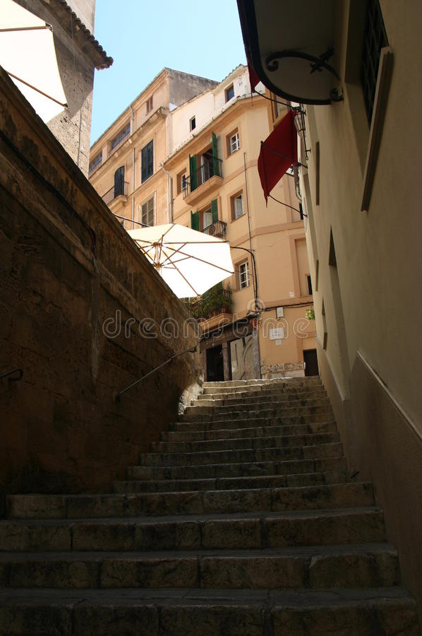 Malorca Old City royalty free stock photography