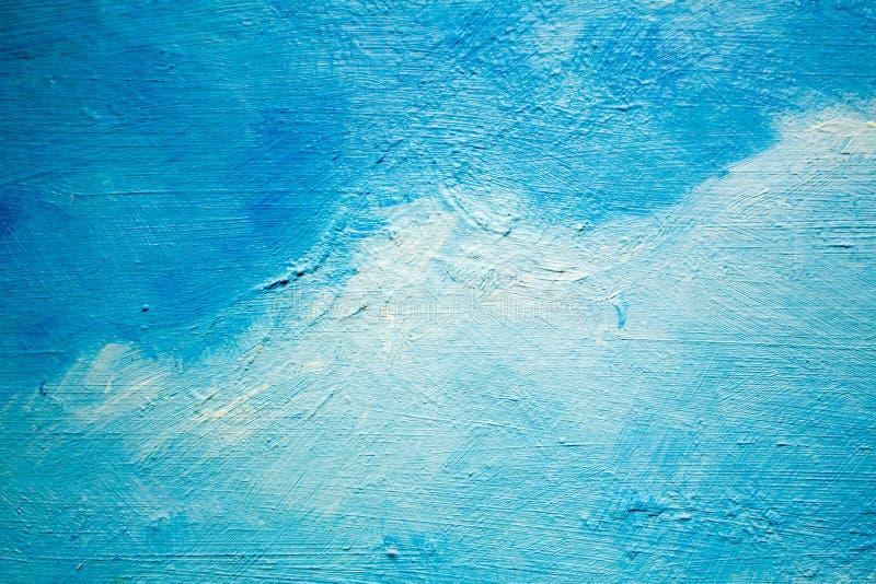 Malować z olejami na kanwie dla tła ważny uderzenie obraz stock