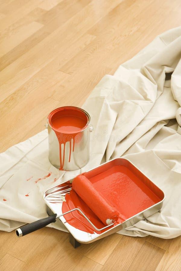 malowanie dostawy obrazy stock