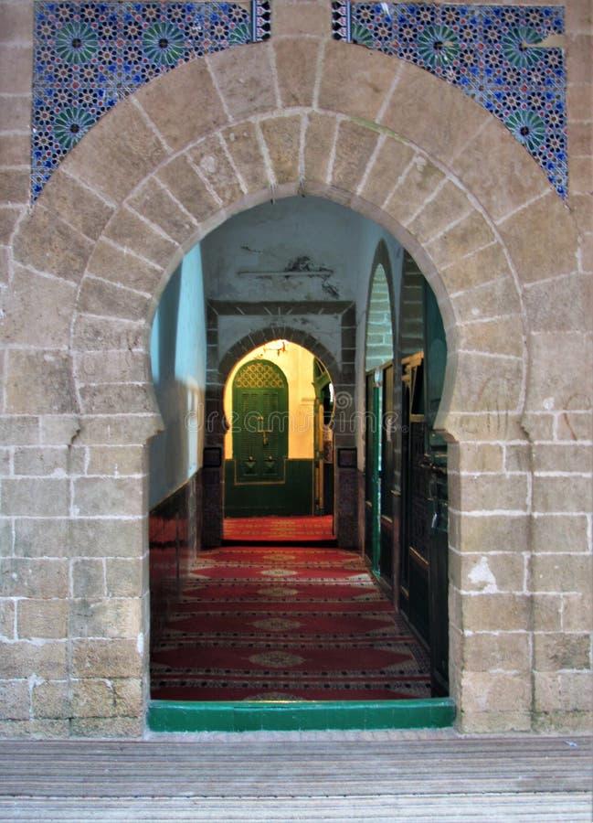 Malownicze i piękne ulicy Essaouira w Maroko obraz royalty free