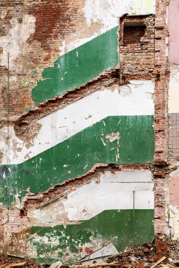 Download Malownicze resztki budynek zdjęcie stock. Obraz złożonej z stary - 106911624