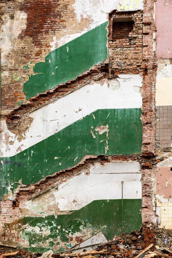 Download Malownicze resztki budynek obraz stock. Obraz złożonej z abstrakt - 106911775