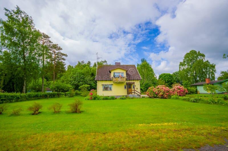 Malowniczy krajobraz w Kristianstad, Szwecja zdjęcie royalty free