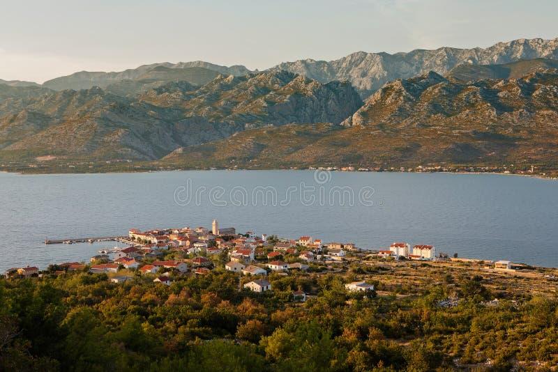 Malowniczy widok Dalmatia zdjęcia royalty free