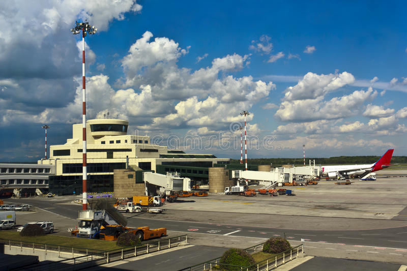 Download Malpensa airport stock photo. Image of italian, environment - 25390360