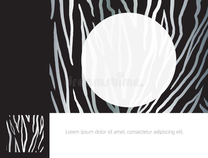 Malplaatje voor brochuredekking vector illustratie
