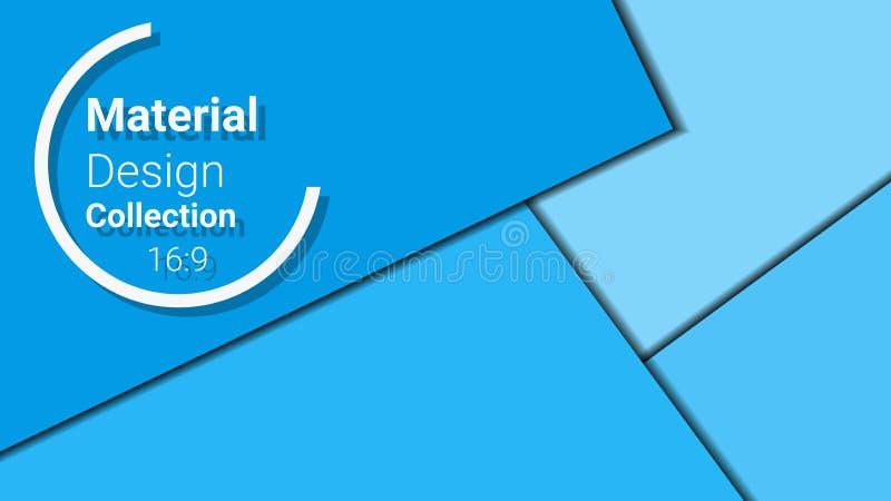 Malplaatje voor presentatie in 16: formaat 9 vector illustratie