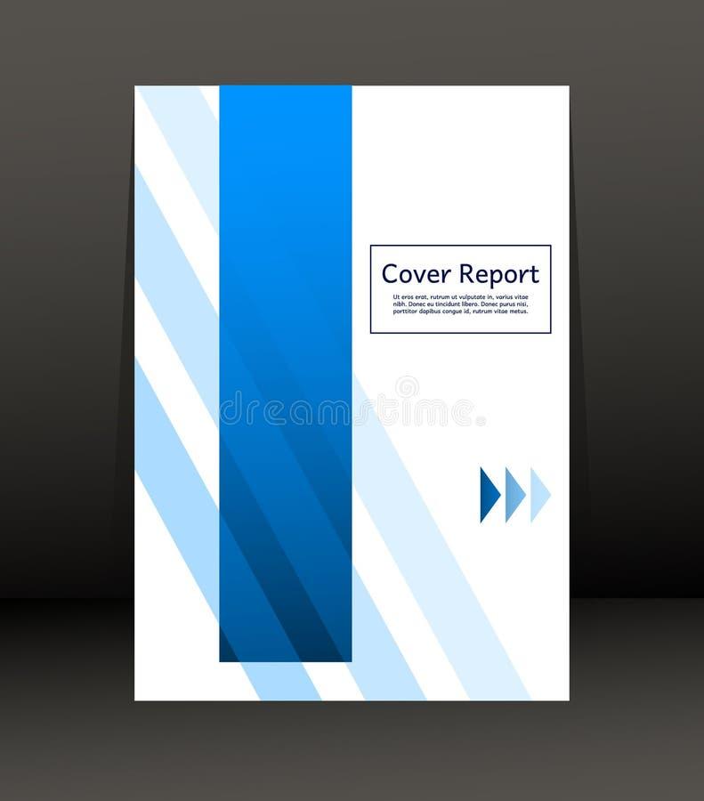 Malplaatjeontwerp voor Dekkingsrapport Vlieger Affiche in A4 grootte vector illustratie