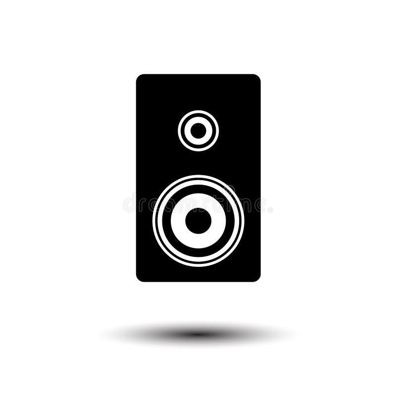 Malplaatjes van het sprekers de vectorpictogram royalty-vrije illustratie