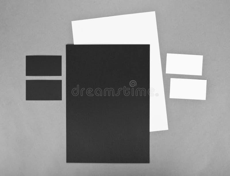Malplaatjezaken voor het brandmerken Collectieve desi van het identiteitsmalplaatje stock afbeeldingen